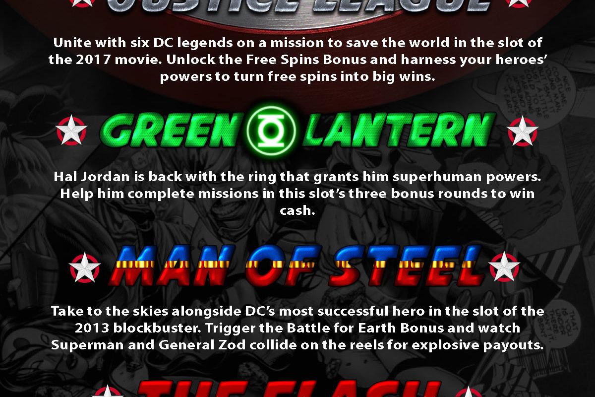 Best Online Super Hero Slot Games